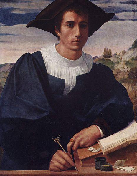 franciabigio - ritratto di giovane