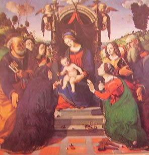 Madonna e santi: Piero di Cosimo, Pinacoteca Ospedale degli Innocenti