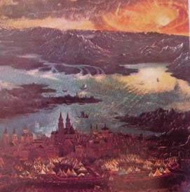 La battaglia di alessandro e Dario a Isso: Albrecht Altdorfer 1529 Alta Pinacoteca Monaco Germania