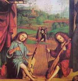 Pala Ghedini (particolare) 1497: Lorenzo Costa