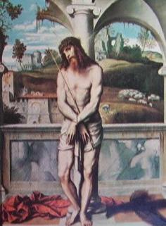 Gesù alla colonna 1530: Moretto, Napoli Museo Nazionale di Capodimonte