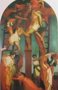 Deposizione della croce: Rosso Fiorentino 1521 Pinacoteca di Volterra