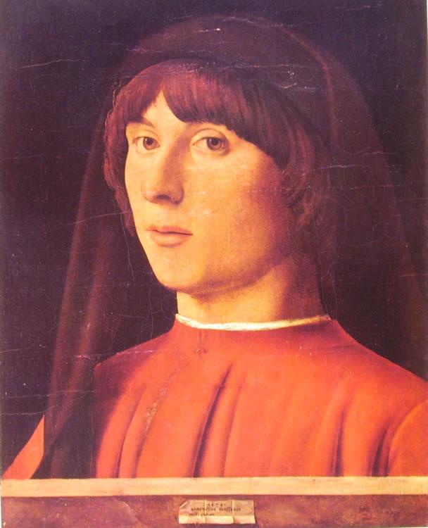 Antonello da Messina: Ritratto d'uomo