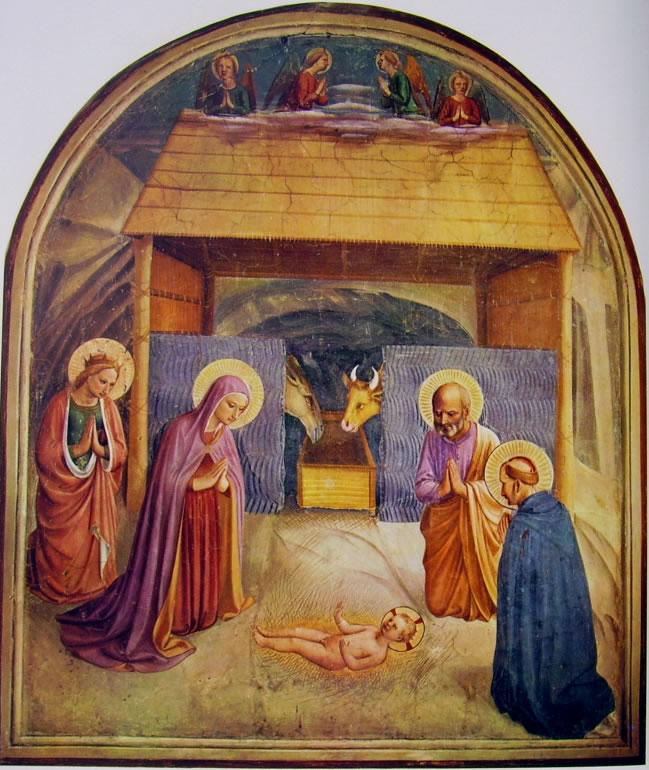Beato Angelico: Affreschi di San Marco - Natività