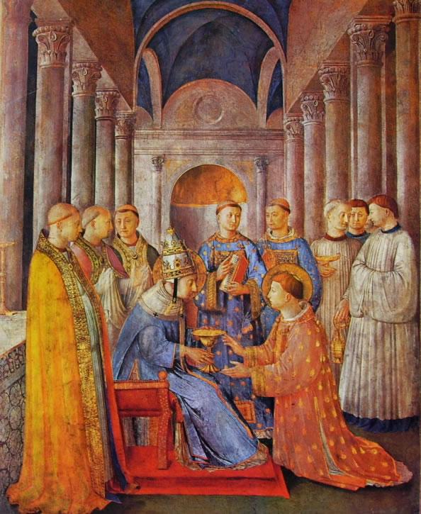 Affreschi della Cappella Niccolina in Vaticano