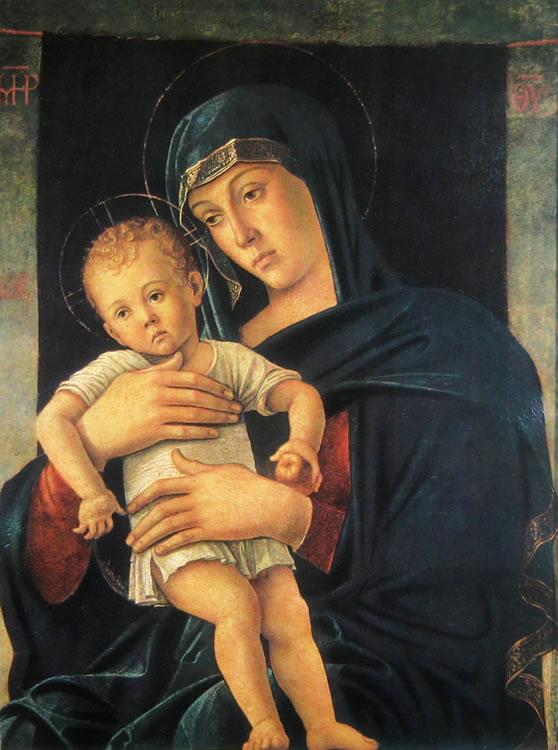 Giovanni Bellini: Madonna col bambino