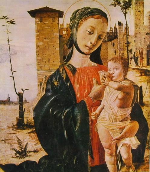 Bramantino: Madonna col Bambino