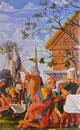 3 Bramantino - Filemone e Bauci particolare sinistro