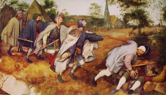 Pieter Bruegel: La parabola dei ciechi