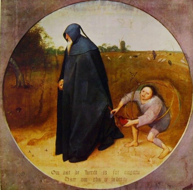 Pieter Bruegel: Il misantropo