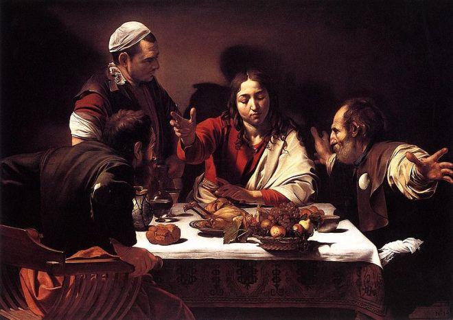 La cena in Emmaus di Caravaggio