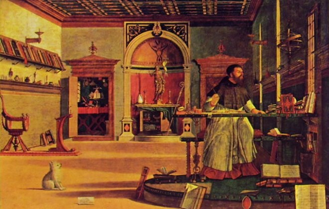 Carpaccio: Visione di Sant'Agostino