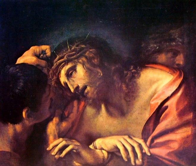 Annibale Carracci: Cristo deriso