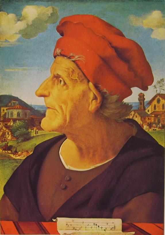 Piero di Cosimo: Ritratto di Francesco Giamberti