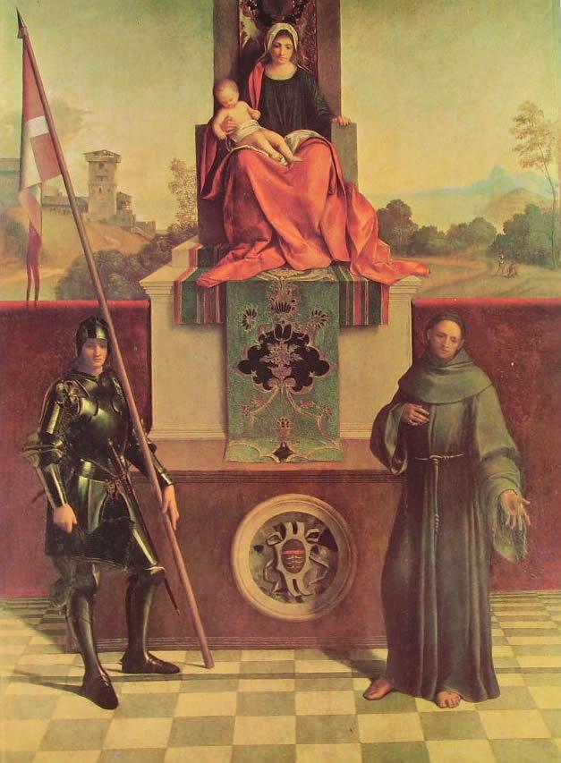 Pala di Castelfranco, cm. 152, Chiesa di San Liberale, Castelfranco Veneto