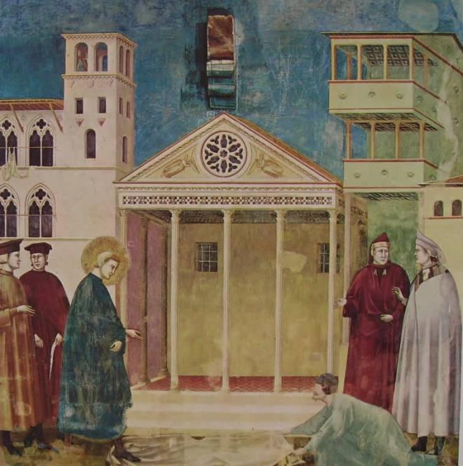 Giotto: L'omaggio di un semplice