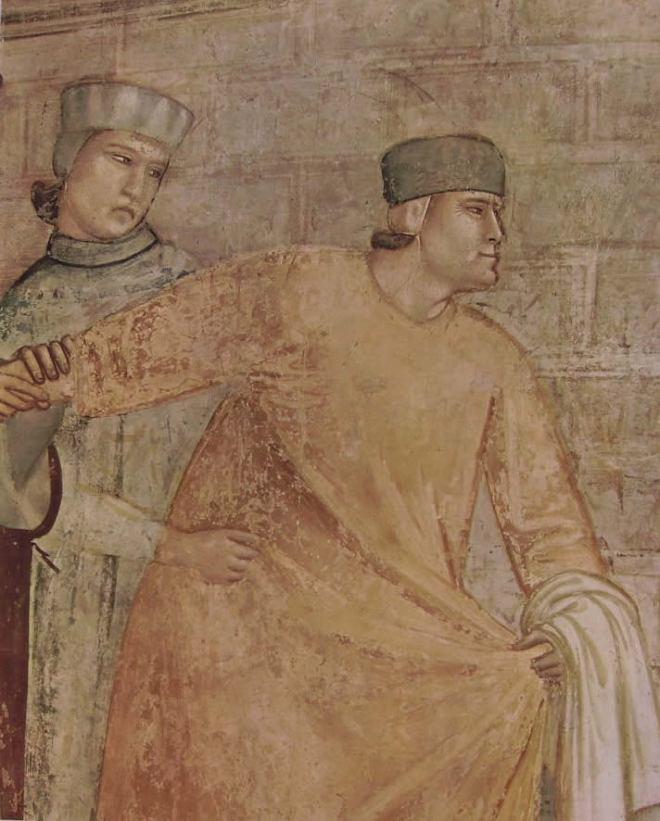 """Giotto: """"La rinuncia degli averi"""""""