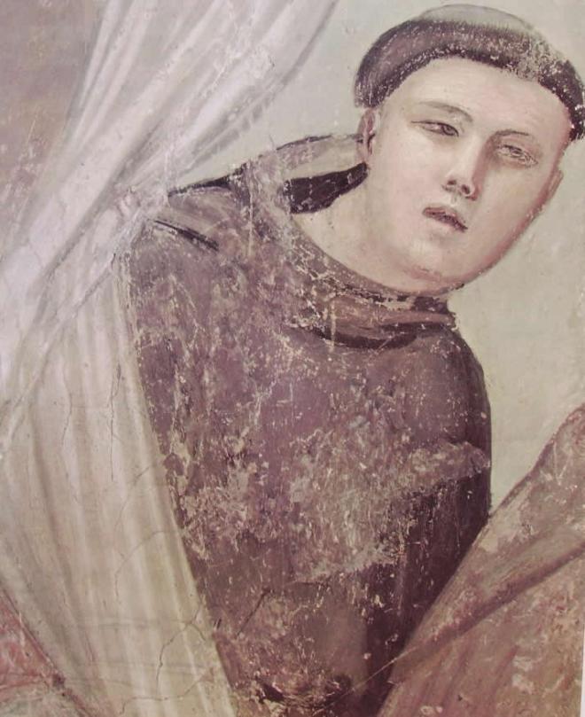 """Giotto: """"L'apparizione a fra Agostino e al vescovo"""""""
