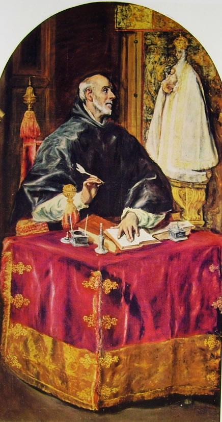 El Greco: Sant'Ildefonzo
