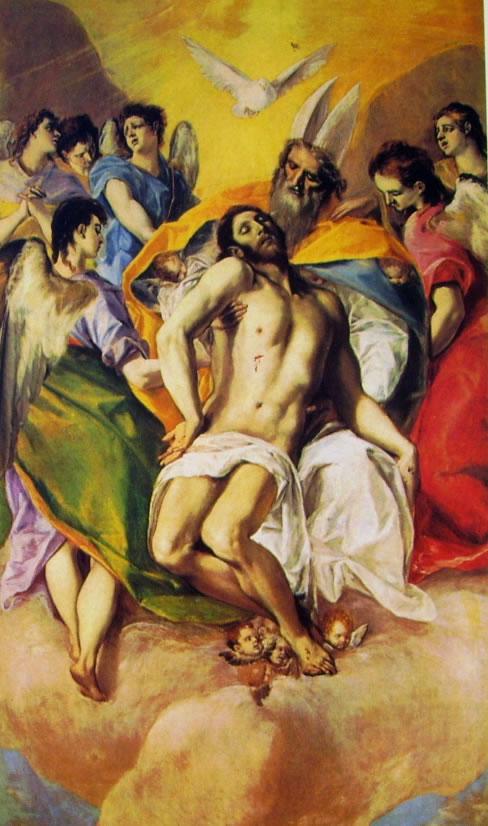 El Greco: La Trinità