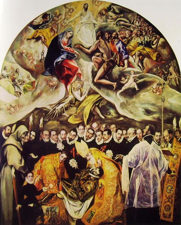 El Greco: L'Entierro del Conde de Orgaz