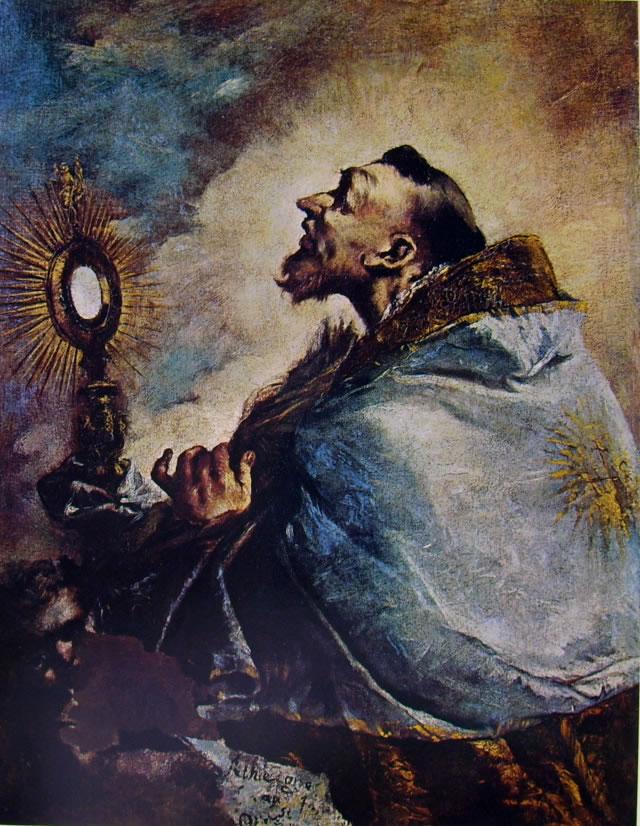 Francesco Guardi: Santo in estasi