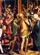 16 Holbein - Particolare dei pannelli di un altare della passione