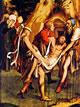 17 Holbein - Particolare dei pannelli di un altare della passione