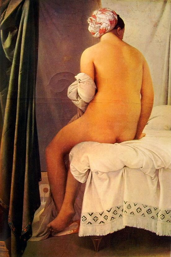 Jean-Auguste-Dominique Ingres: La bagnante di Valpinçon
