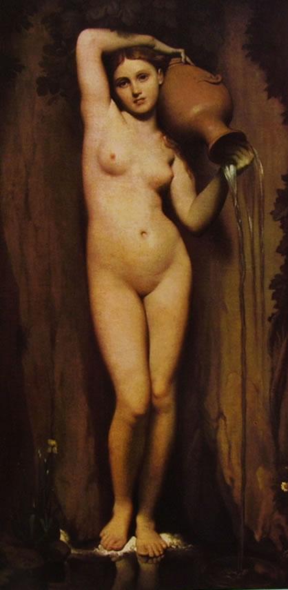 Jean-Auguste-Dominique Ingres: La sorgente
