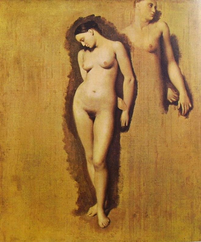 Jean-Auguste-Dominique Ingres: Ruggero Libera Angelica