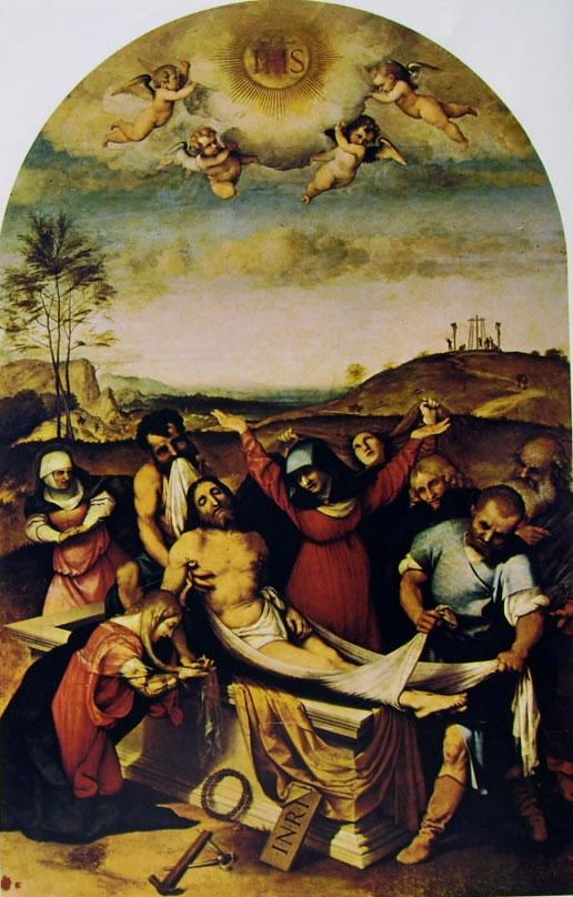 Lorenzo Lotto: Deposizione