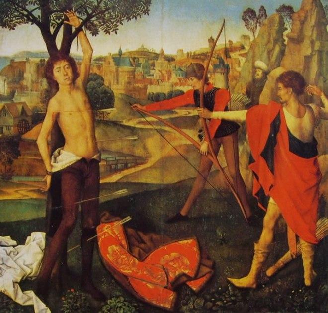 Hans Memling: Il martirio di San Sebastiano