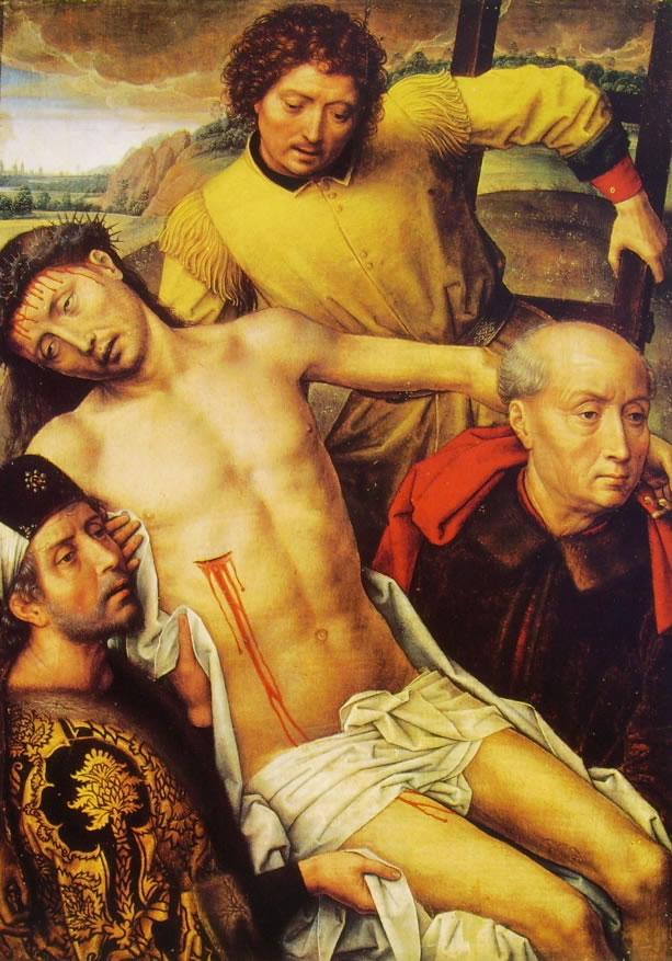 Dal Dittico di Granada - La discesa dalla croce cm. 51 x 36,5, Capilla Real, Granada.