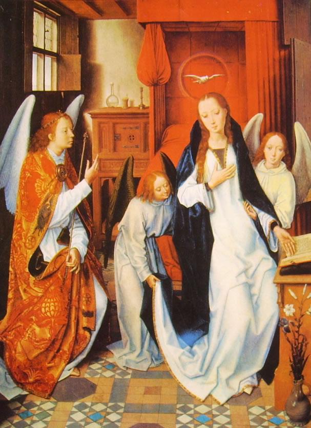 Hans Memling: L'Annunciazione