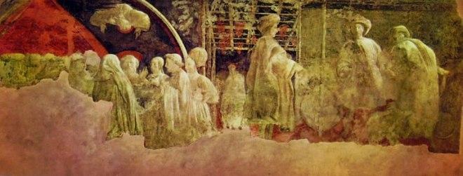 """Paolo Uccello: Storie di Noè - """"Sacrificio e ebbrezza di Noè"""""""