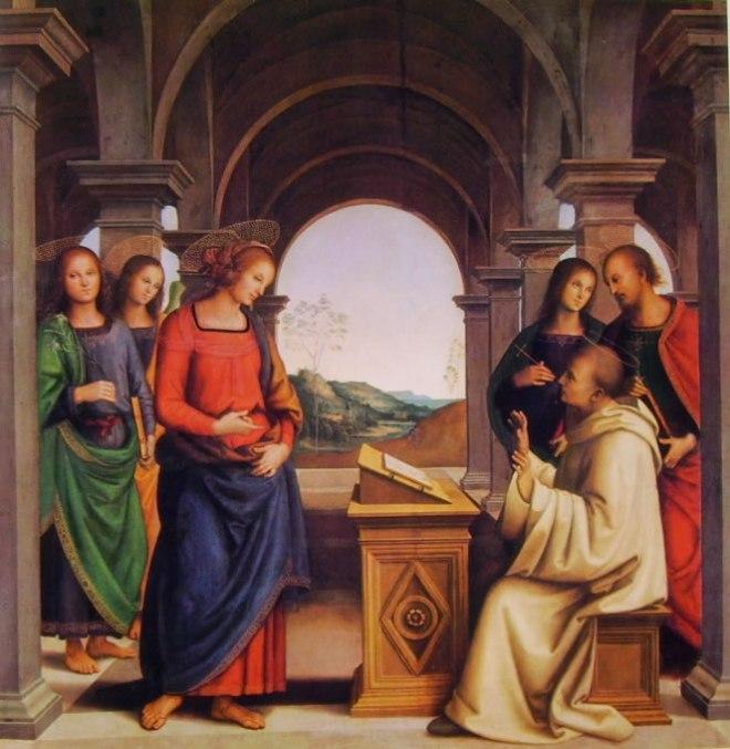 Il Perugino: La visione di San Bernardo