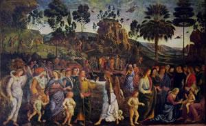 Il Perugino: Dipinti della Cappella Sistina - Viaggio in Egitto