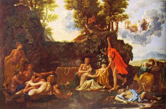 Nicolas Poussin: La nascita di Bacco