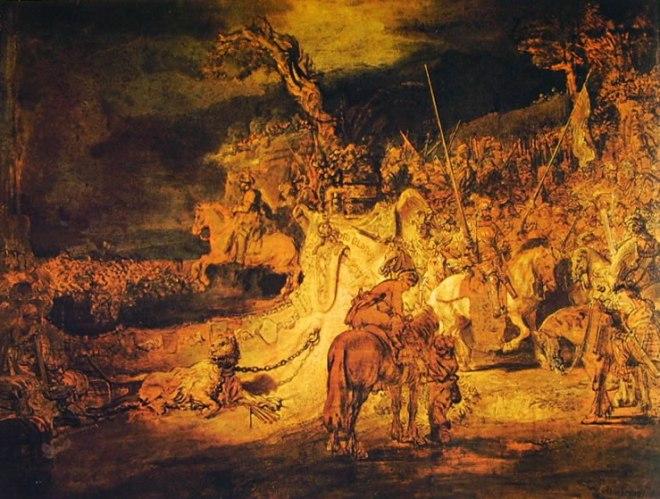 Rembrandt Harmenszoon Van Rijn: Allegoria della concordia