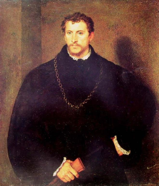 Tiziano: Ritratto d'uomo - il giovane inglese