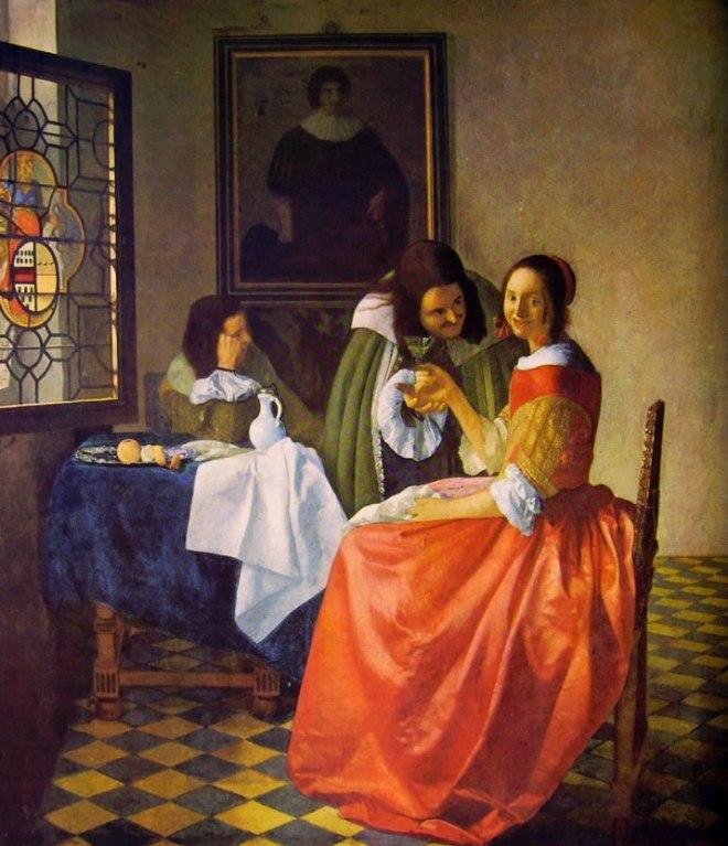Jan Vermeer: La coquette