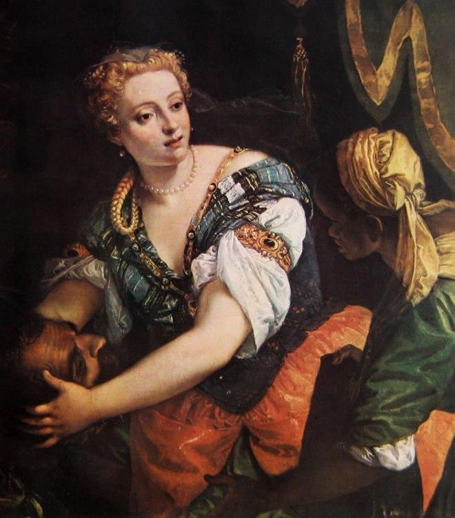 Il Veronese: Giuditta con la testa di Oloferne