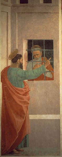 Filippino Lippi: San Pietro in carcere visitato da san Paolo
