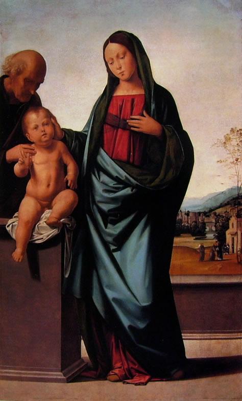 Fra Bartolomeo: Sacra Famiglia