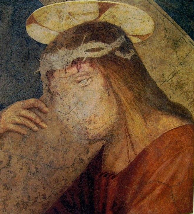 Fra' Bartolomeo: Cristo portacroce (affresco staccato)