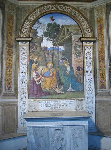 Pinturicchio: Cappella del Presepio