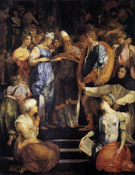 Rosso Fiorentino: Sposalizio della Vergine (Pala Ginori)