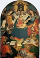 Madonna della Trinità o Madonna col Bambino, la Trinità, sant'Agostino e sant'Atanasio d'Alessandria