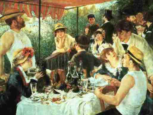 Renoir-la colazione dei canottieri